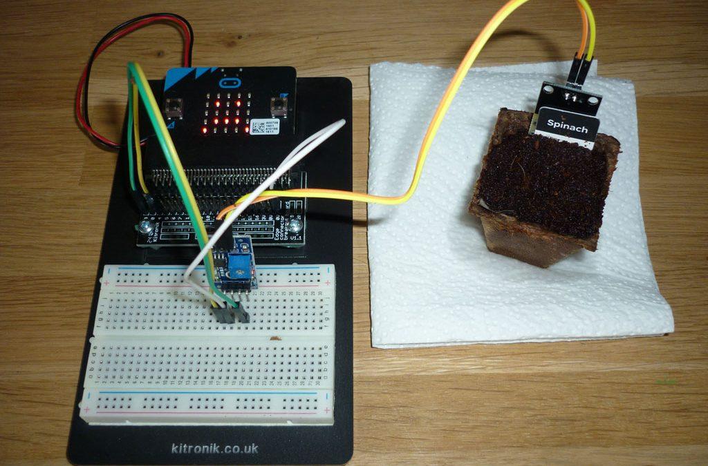 Soil Moisture Sensor for micro:bit