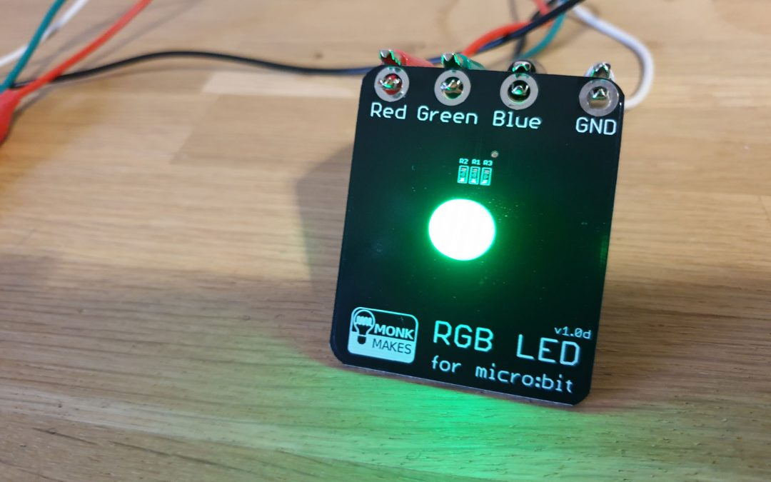 LED Colours – learning RGB colours using micro:bit
